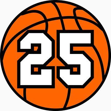 Basketball 25 by TheAtomicSoul