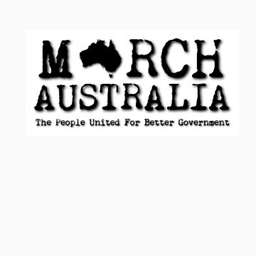 March Australia T-shirt by marchaustralia