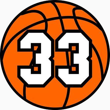 Basketball 33 by TheAtomicSoul
