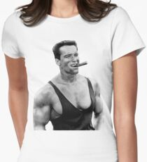 Arnold Womens Fitted T-Shirt