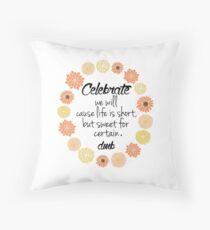 Crush Quotes Throw Pillow