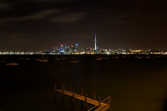 Auckland City by DTohovaka