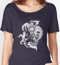 White Rabbit in White Women's Relaxed Fit T-Shirt