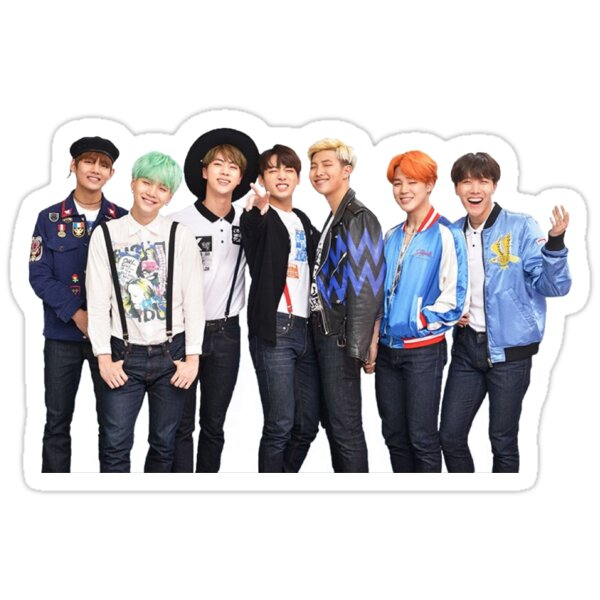 Quot Bts Quot Stickers By Afirelob Redbubble