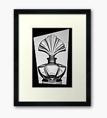 Bottle in a black frame 2 Framed Print
