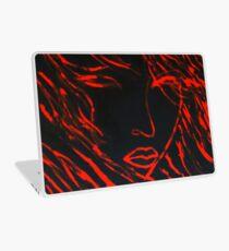 Red Sun Laptop Skin