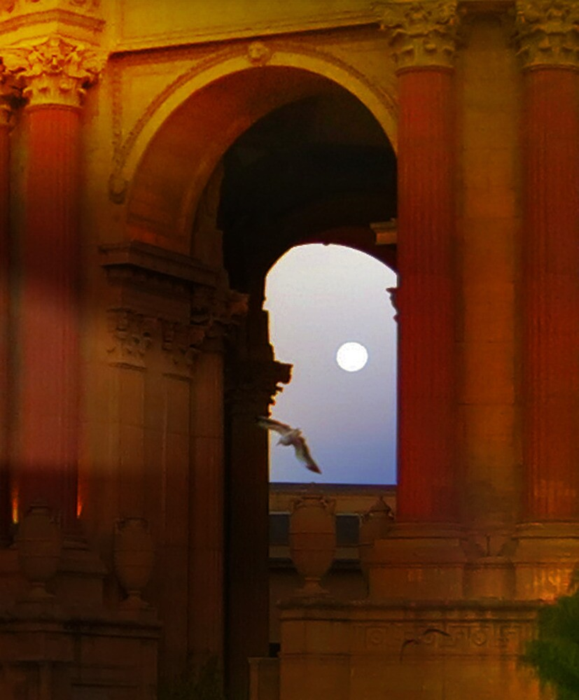 Palace Full Moon by David Denny