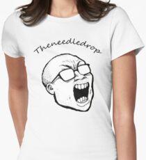 Theneedledrop Tshirt Womens Fitted T-Shirt