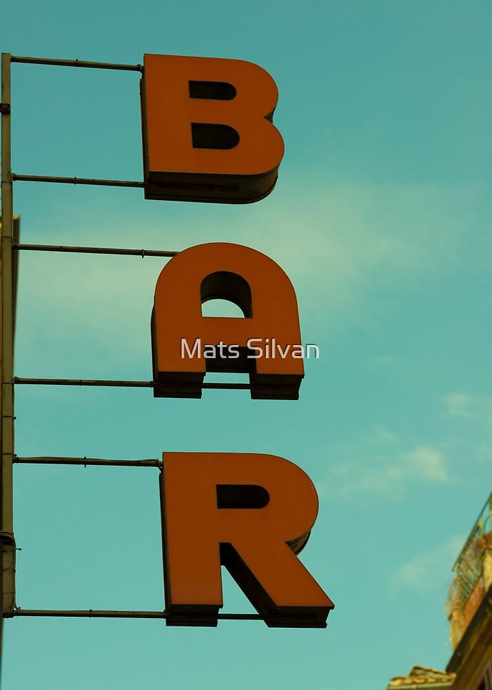 Bar by Mats Silvan