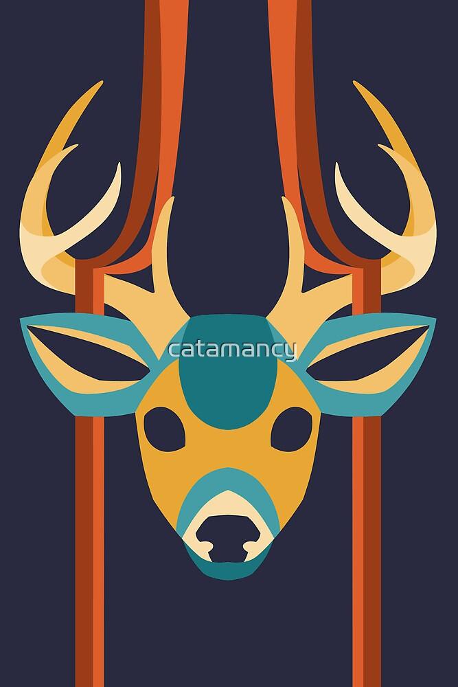 Geo Deer by catamancy