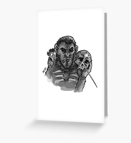 To Ape or not to Ape Greeting Card
