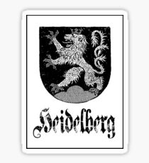 The 3-Tailed Lion of Heidelberg Sticker