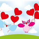 Love is in the air... by schtroumpf2510
