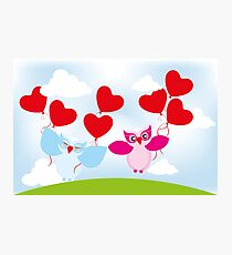 Love is in the air... Photographic Print