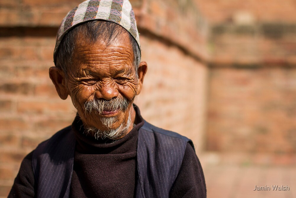 Nepali Man by Jamin Walsh