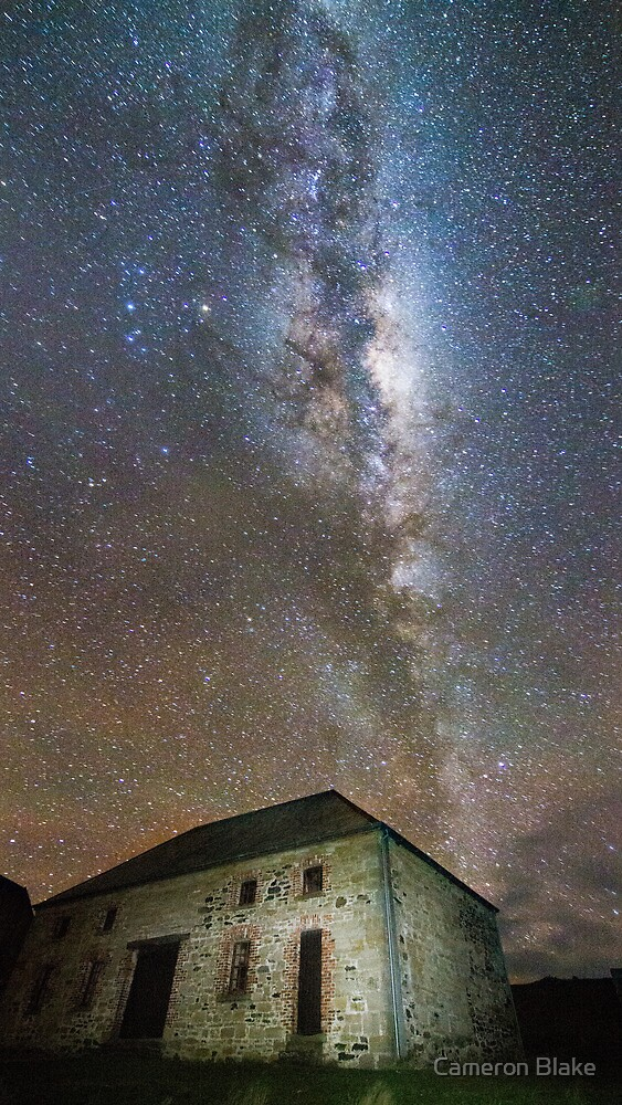 Starry Night on Maria Island by Cameron Blake