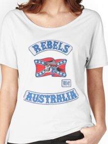 rebel MC supporter  Women's Relaxed Fit T-Shirt