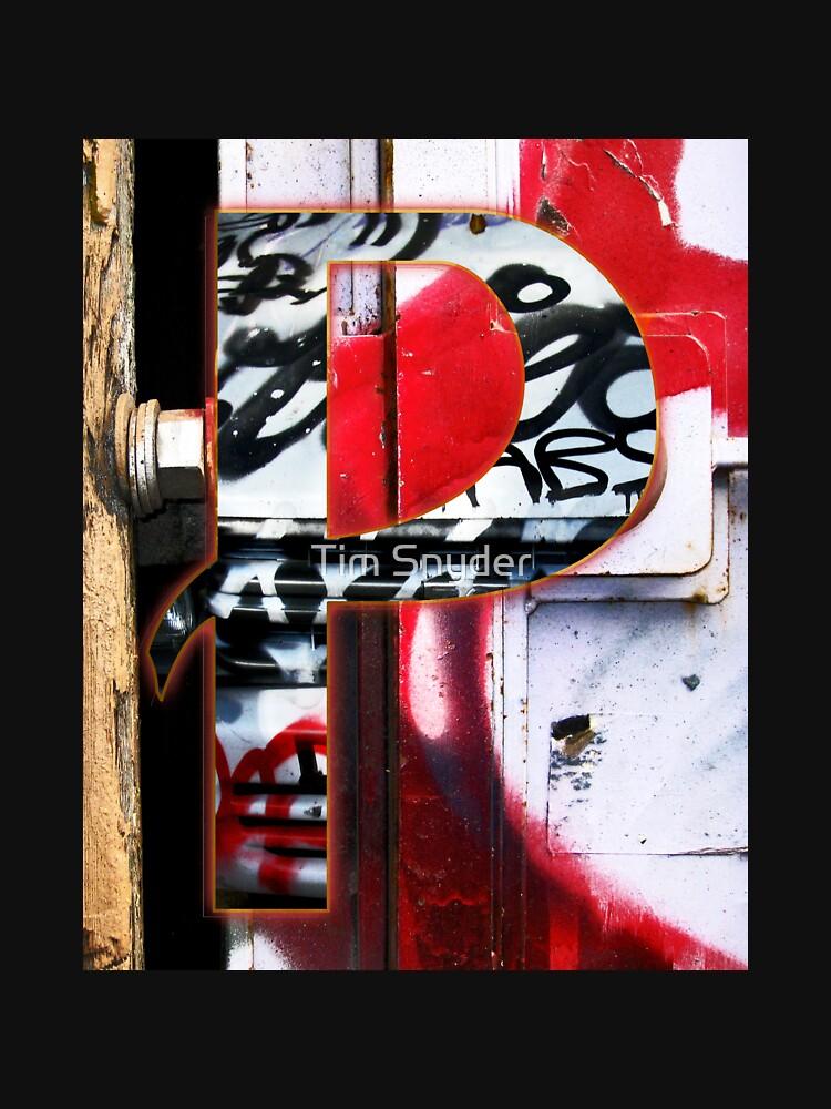 Urban Alphabet P by TimSnyderSFArt