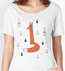Foxes Women's Relaxed Fit T-Shirt