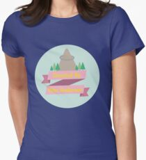 Directed By Wes Anderson Womens Fitted T-Shirt