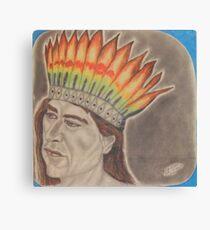 Chief Powhatan Canvas Print