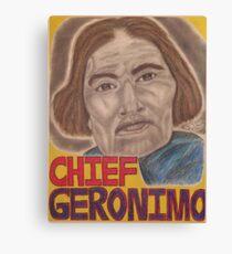 Chief Geronimo Canvas Print