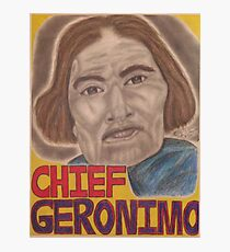 Chief Geronimo Photographic Print