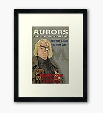 Auror's: The Few The Vigilant Framed Print