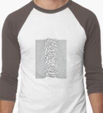 Joy Division - Unknown Pleasures Men's Baseball ¾ T-Shirt
