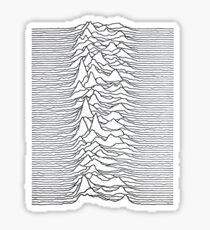 Joy Division - Unknown Pleasures Sticker