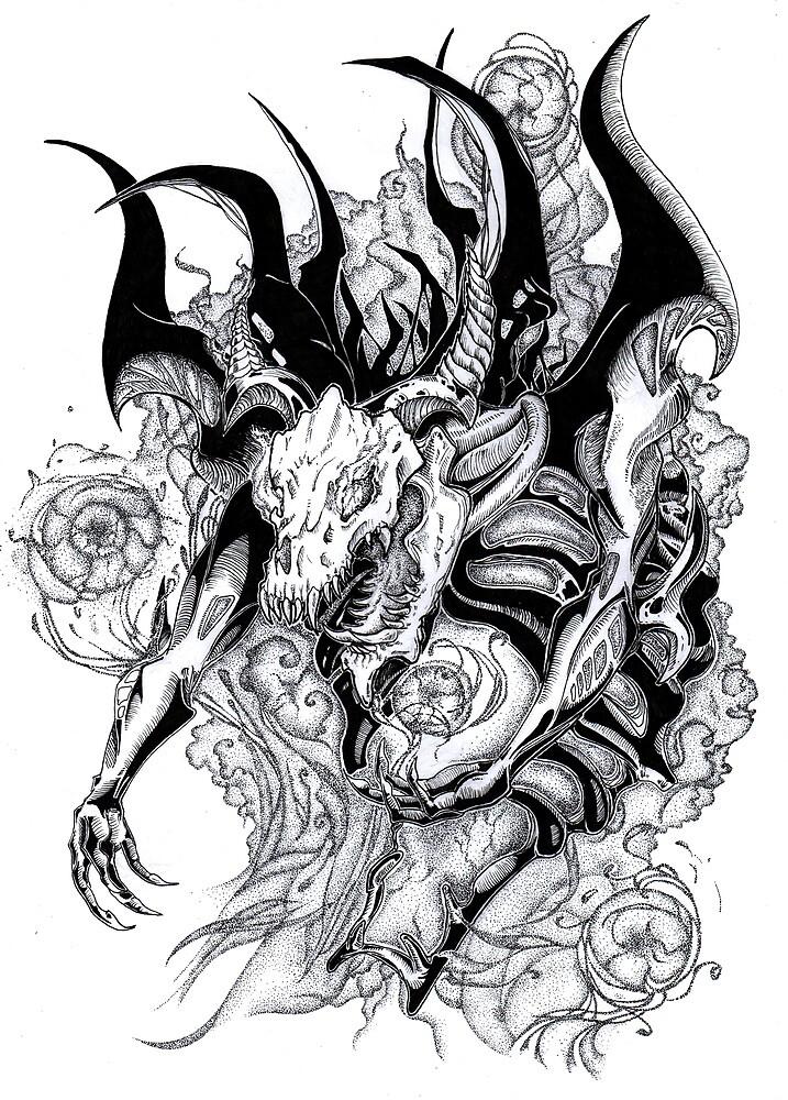 Shadow fiend by Morfiya