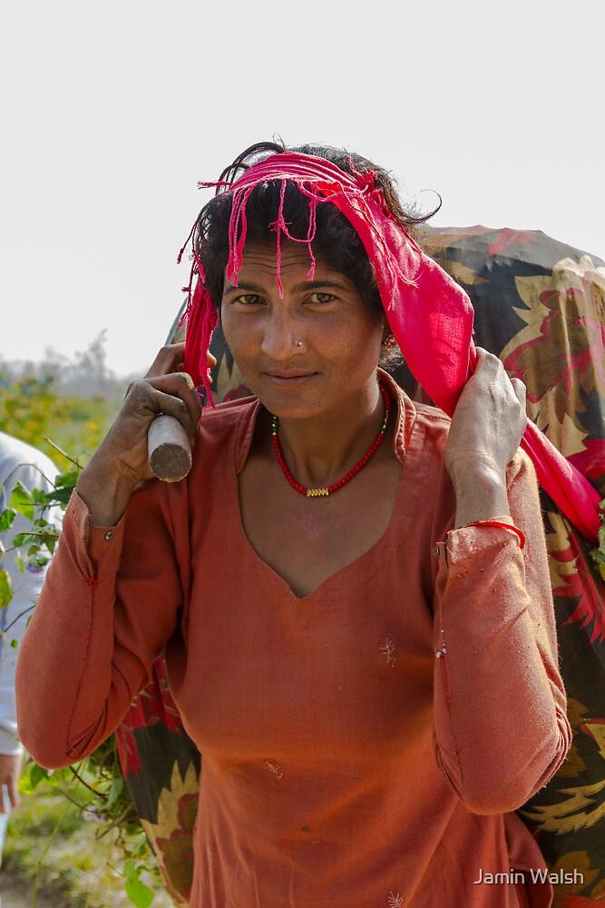 Tikapur Woman by Jamin Walsh