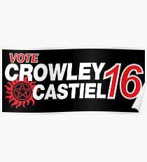 Crowley / Castiel 2016 Poster