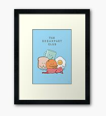 The Breakfast Club Framed Print