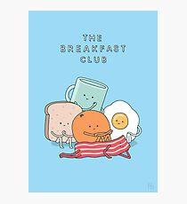 The Breakfast Club Photographic Print