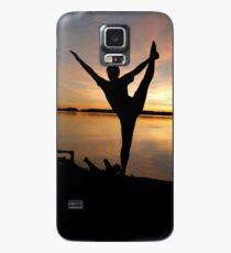 dancer at sunset Case/Skin for Samsung Galaxy