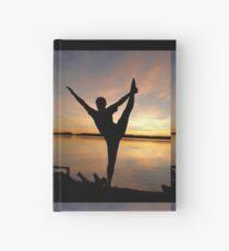 dancer at sunset Hardcover Journal