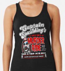 Captain Spaulding Murder Ride Racerback Tank Top