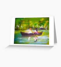 AfterNoon by Colleen Ranney Greeting Card