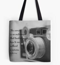 Dorothea Lange Camera Tote Bag