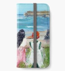 By The Shore By Colleen Ranney iPhone Wallet