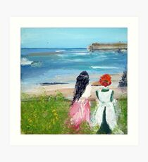 By The Shore By Colleen Ranney Art Print