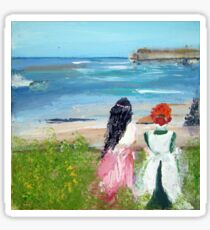 By The Shore By Colleen Ranney Sticker