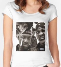 Gravediggaz Women's Fitted Scoop T-Shirt