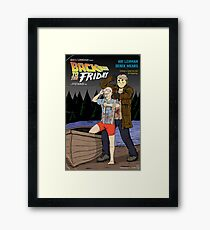 Back to the Friday Framed Print