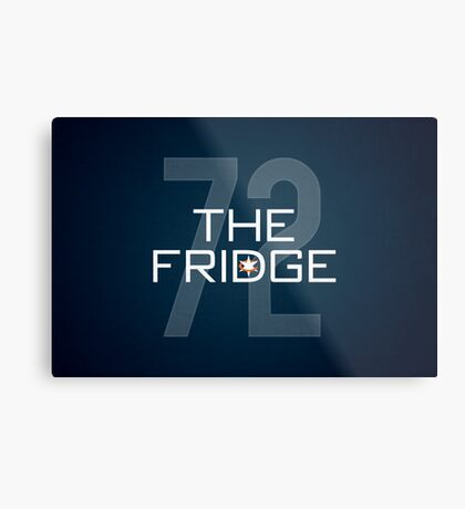 The Fridge Metal Print