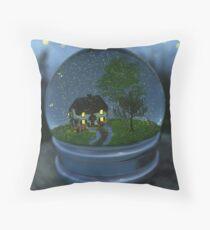 Firefly Globe Throw Pillow