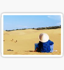 Mui Ne sand dunes Sticker