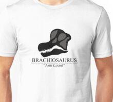 Brachiosaurus Skull Unisex T-Shirt