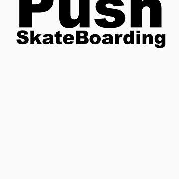 Push Skating by AndrackSkate